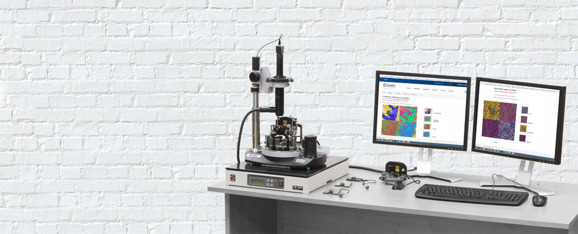 Modular scanning probe microscope NTEGRA Prima, configuration possibilities for a special task