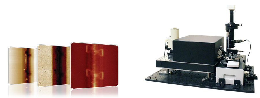 Versatile automated AFM-Raman, SNOM and TERS system