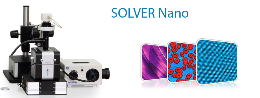 SOLVER Nano &ndash Atomic Force Microscope for Research & Education