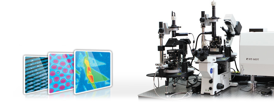 NTEGRA Spectra – Atomic Force Microscope integrated with Confocal Raman and  SNOM systems