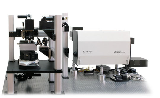 NTEGRA Spectra II, Versatile automated AFM-Raman, SNOM and TERS system